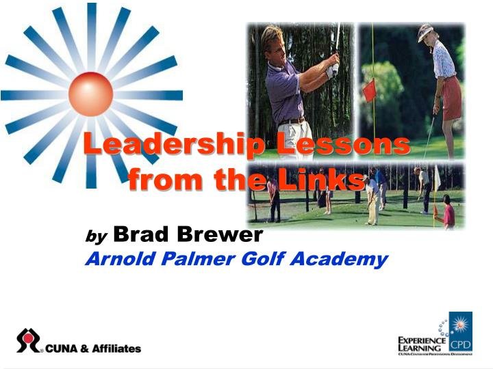 leadership lessons from the links n.
