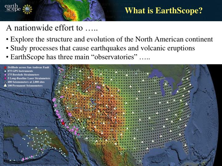 What is EarthScope?