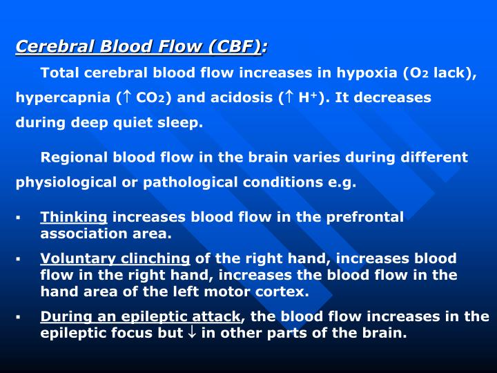 Cerebral Blood Flow (CBF)