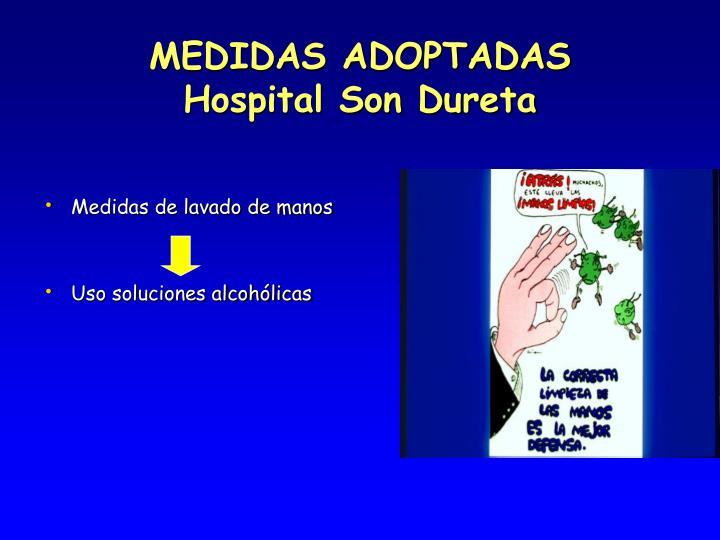 MEDIDAS ADOPTADAS