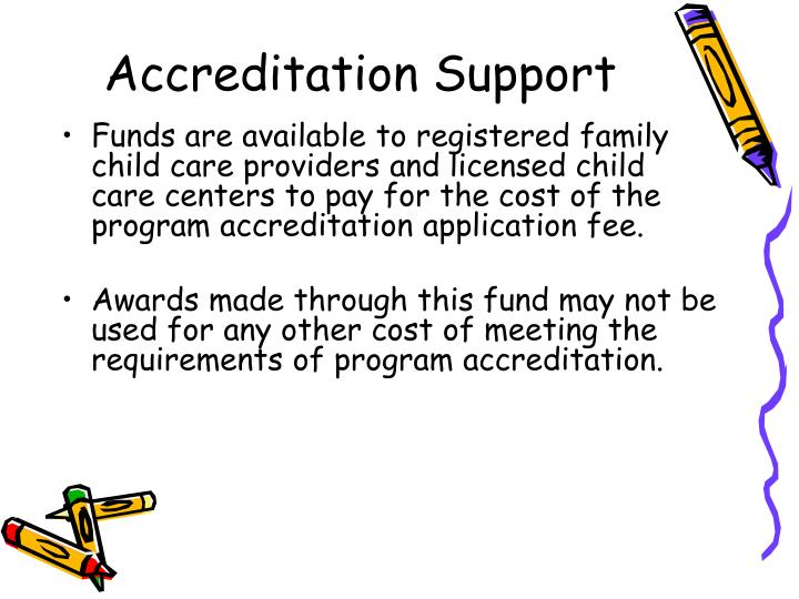 Accreditation Support