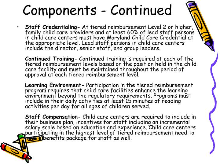 Components - Continued