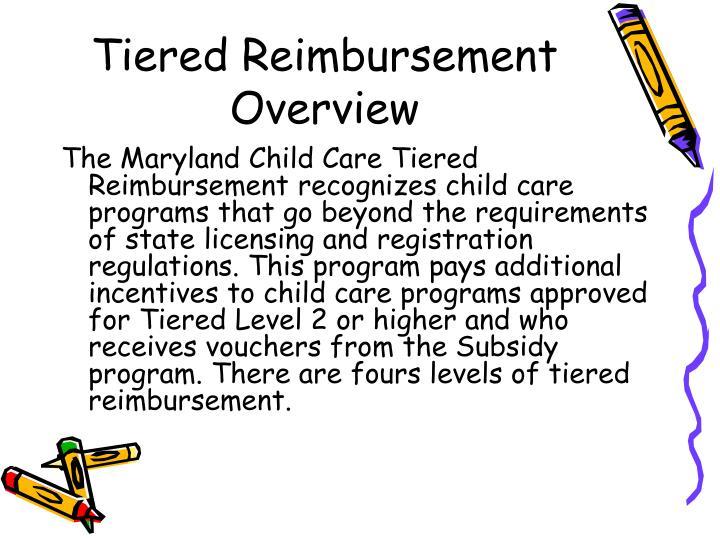 Tiered Reimbursement Overview