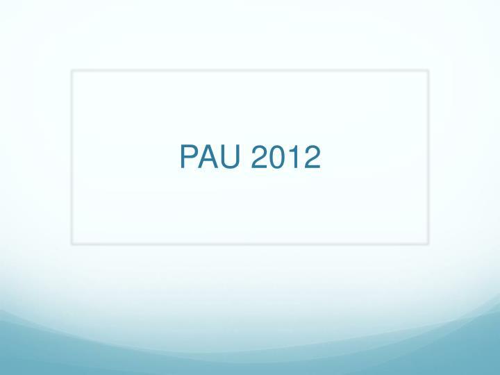 pau 2012 n.
