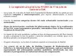 2 la regulaci n actual de la ley 97 2001 de 17 de julio de suelo de la cam