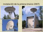 instalaci n de la antena marzo 20071
