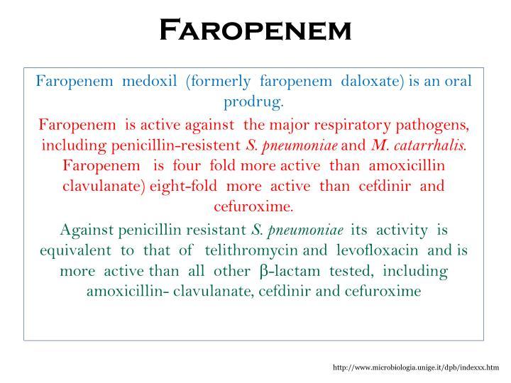Faropenem