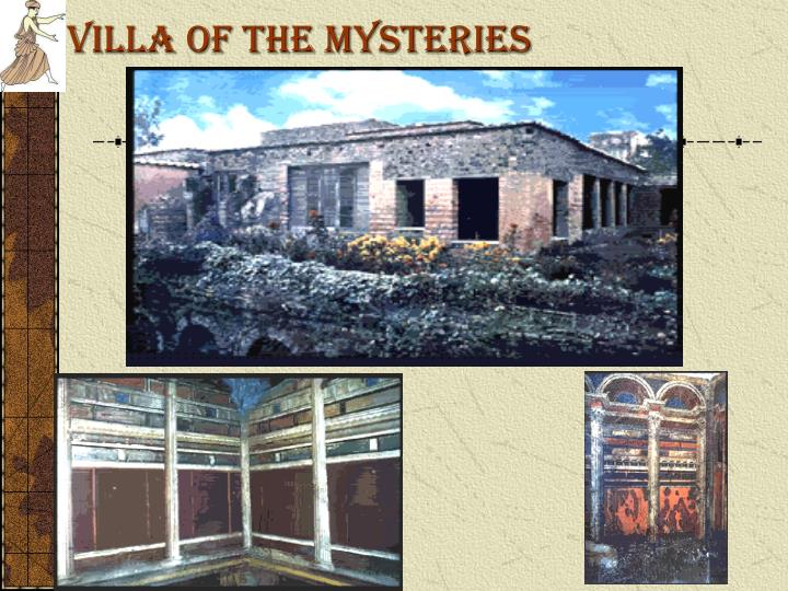 Villa of the Mysteries