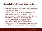 establishing payment amounts2