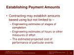 establishing payment amounts3