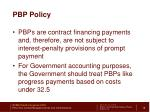 pbp policy1