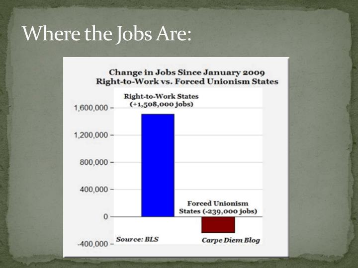 Where the Jobs Are: