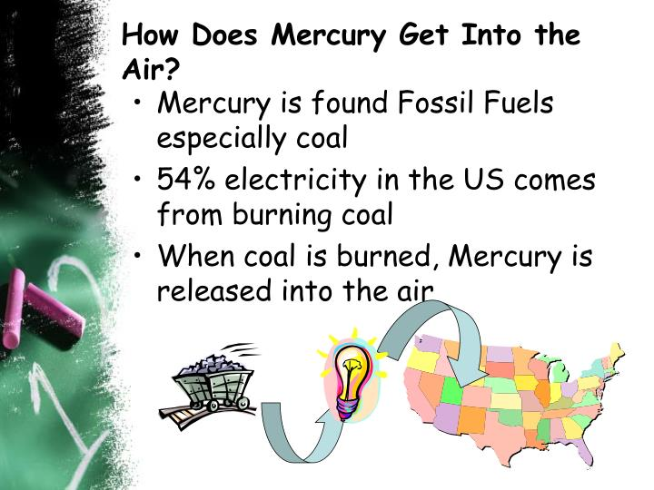 How Does Mercury Get Into the Air?