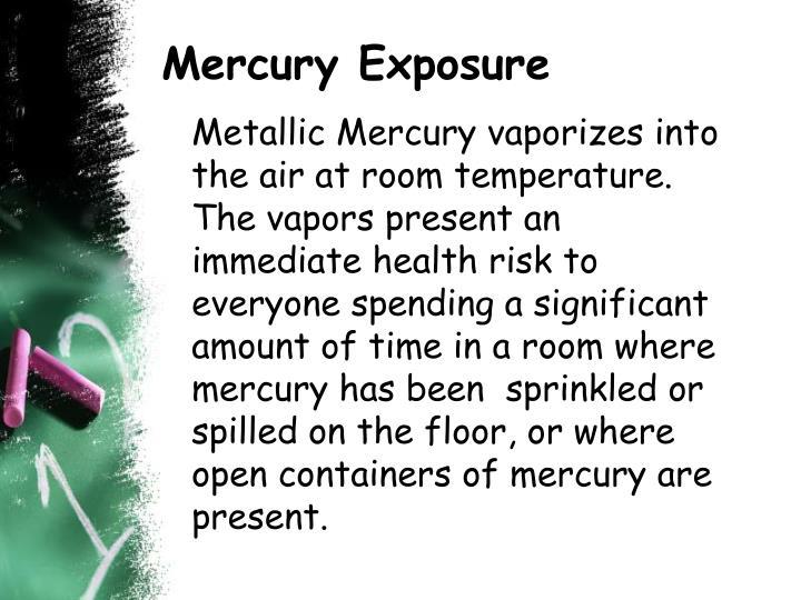Mercury Exposure