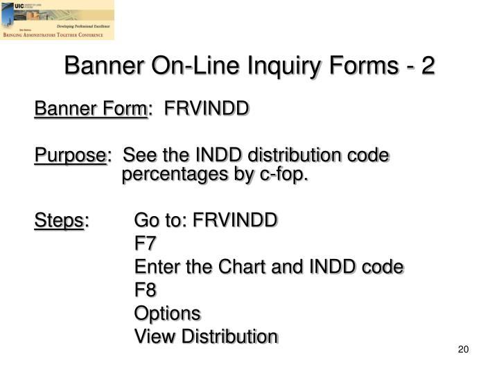 Banner Form