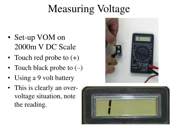 Measuring Voltage