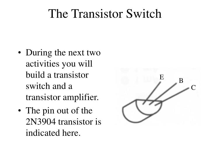 The Transistor Switch