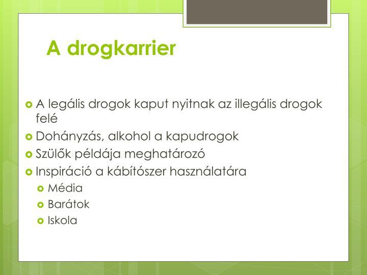 A drogkarrier