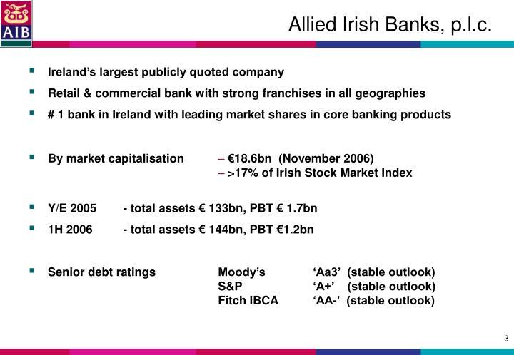 Allied irish banks p l c1