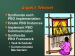 aspect weaver