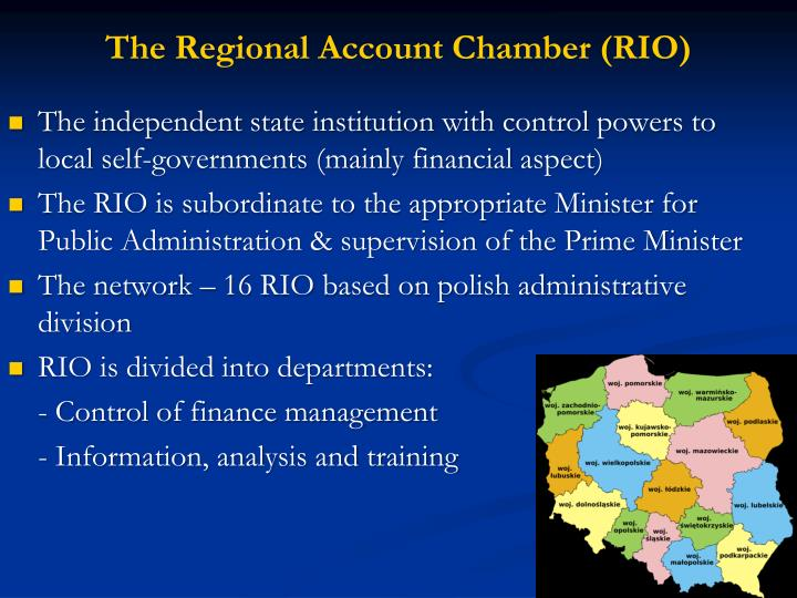 The Regional Account Chamber (RIO