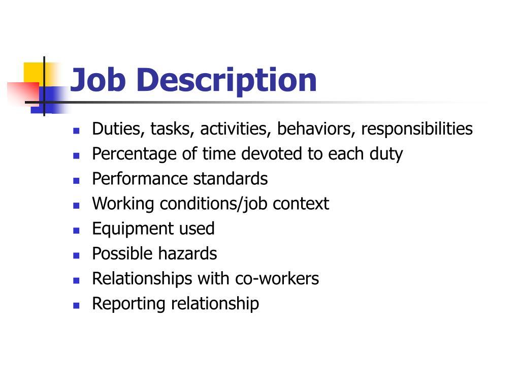 PPT - Work Analysis PowerPoint Presentation - ID:3351613