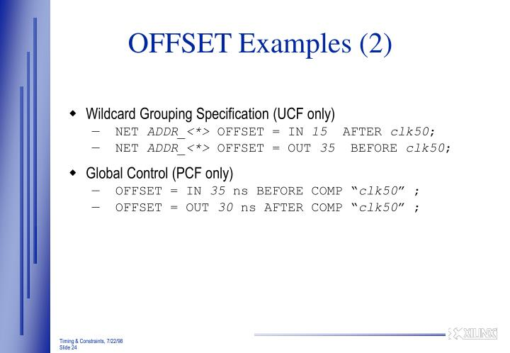 OFFSET Examples (2)