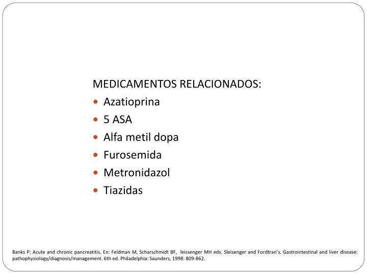 MEDICAMENTOS RELACIONADOS: