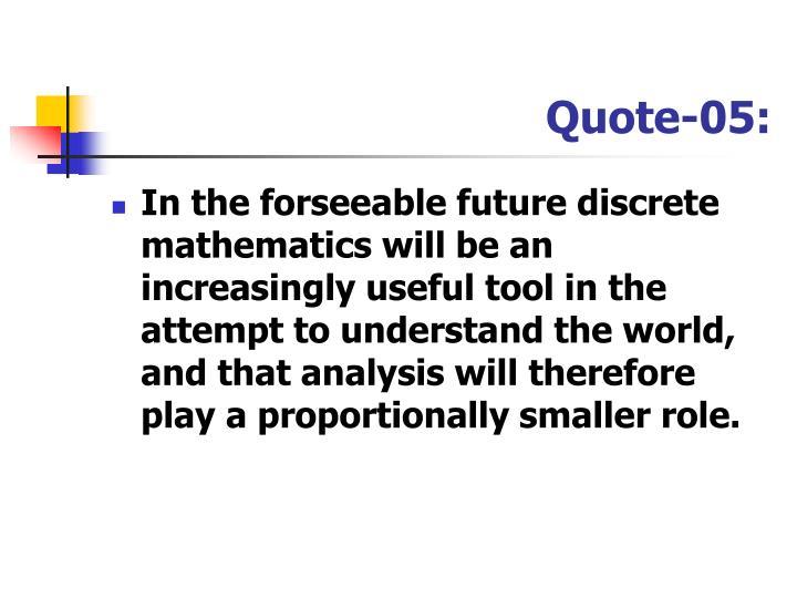 Quote-05: