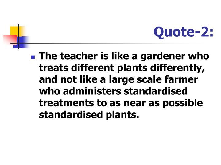 Quote-2: