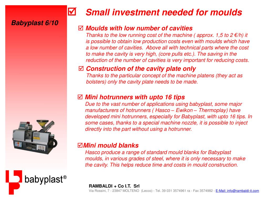 PPT - Babyplast 6/10 PowerPoint Presentation - ID:3351683