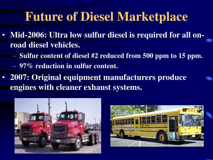 Future of Diesel Marketplace