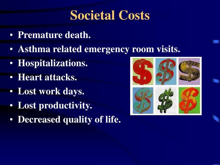 Societal Costs