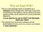 why use eagle pcb