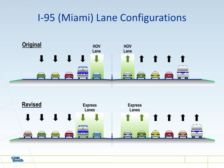 I-95 (Miami) Lane Configurations