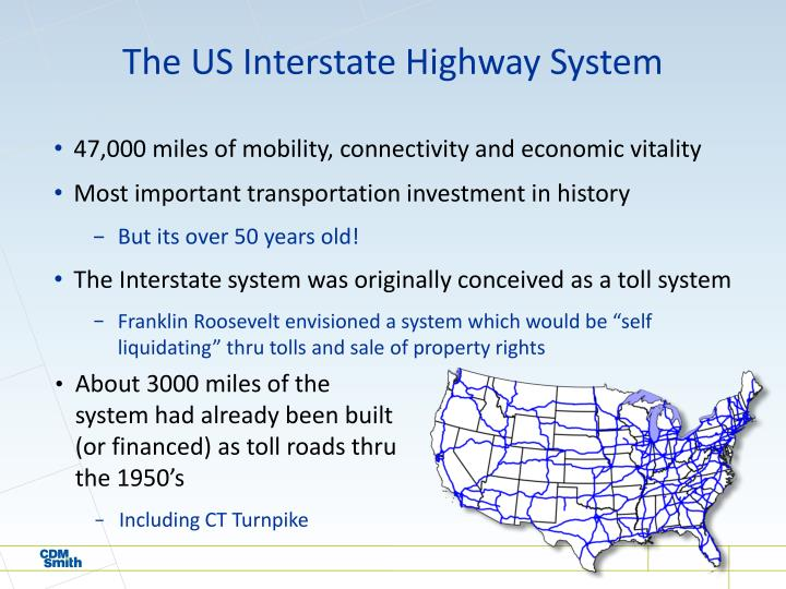 The US Interstate Highway System