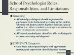 school psychologist roles responsibilities and limitations2