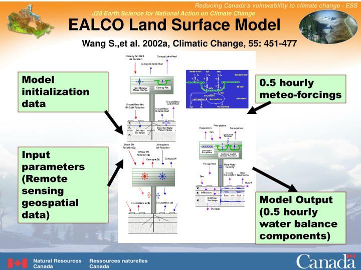 EALCO Land Surface Model