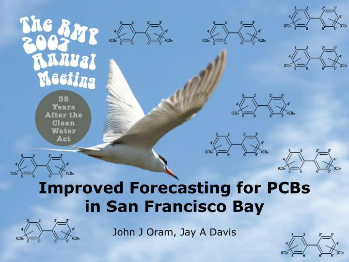 Improved forecasting for pcbs in san francisco bay