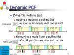 dynamic pcf2
