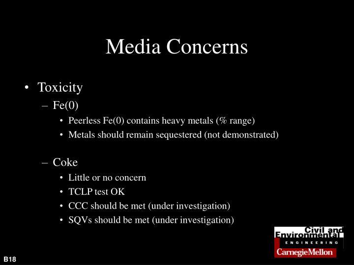 Media Concerns
