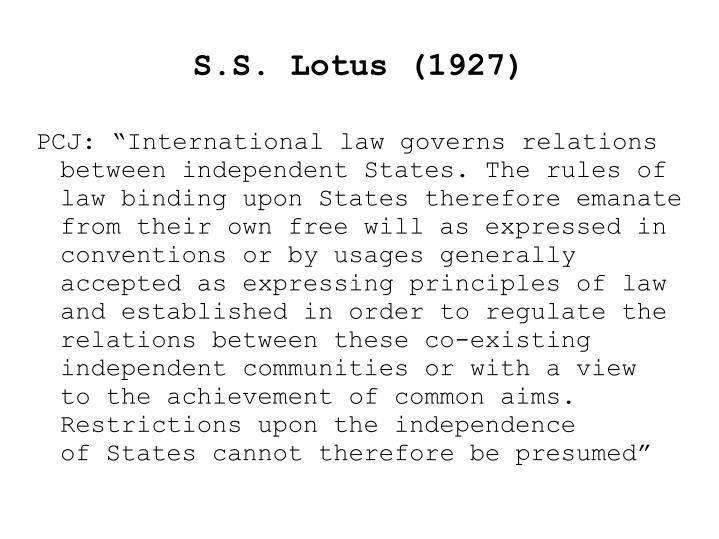 S.S. Lotus (1927)