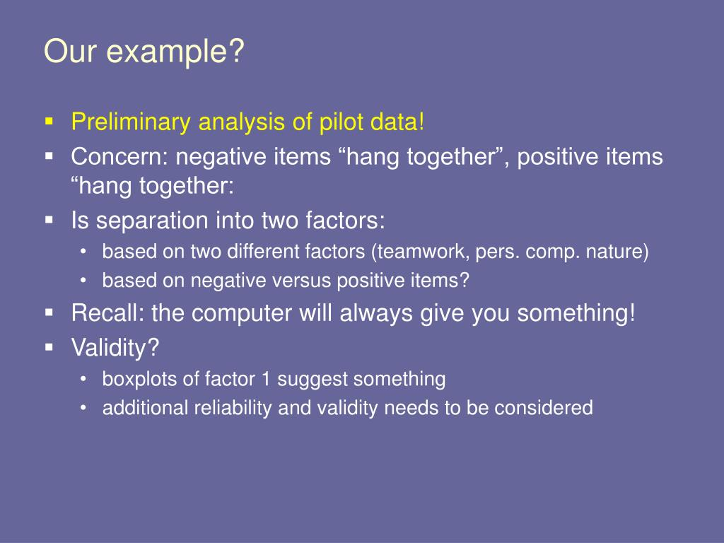 PPT - Factor Analysis PowerPoint Presentation - ID:3351812