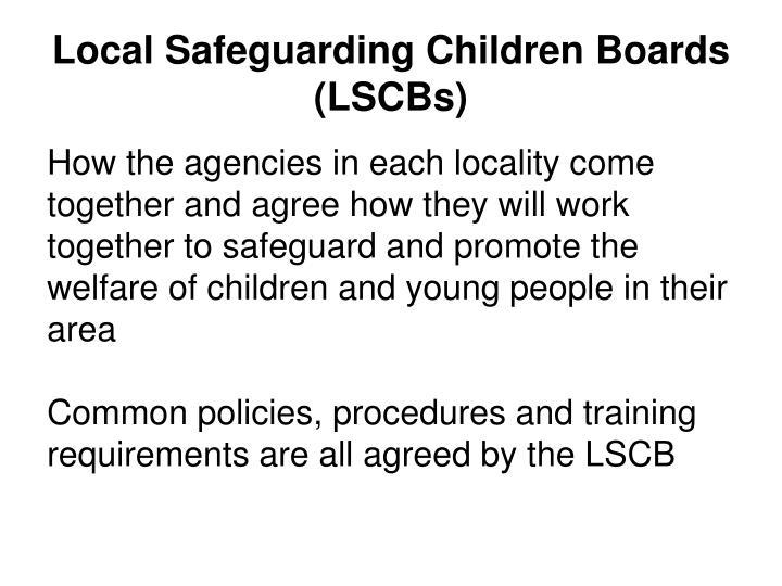 Local Safeguarding