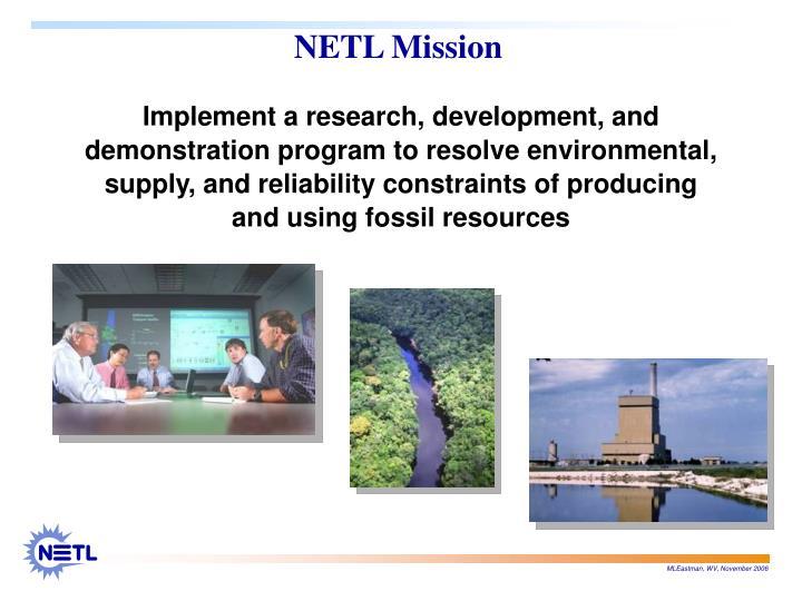 Netl mission