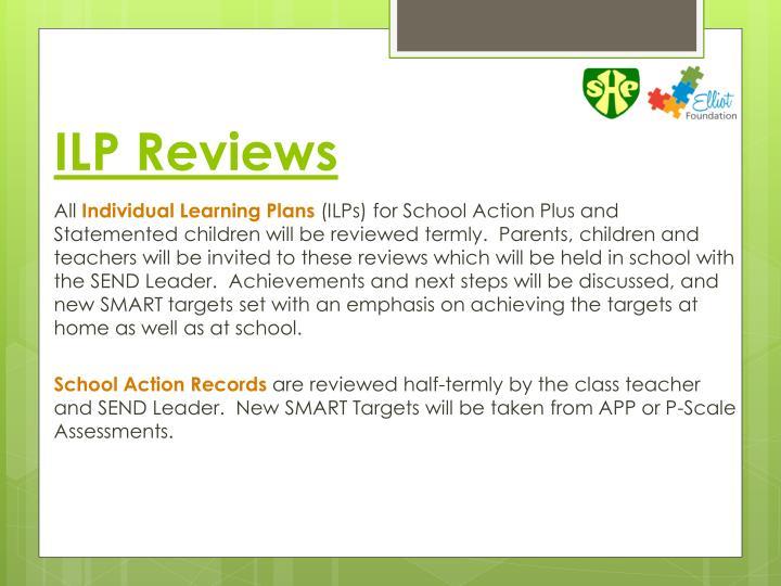 ILP Reviews