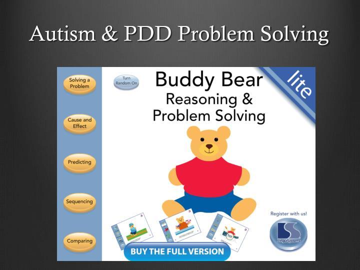 Autism & PDD Problem Solving