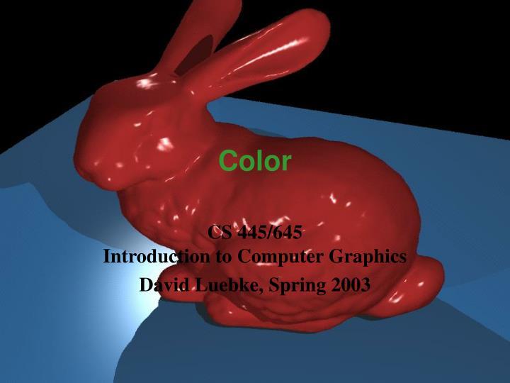 color n.