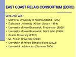 east coast relais consortium ecrc1