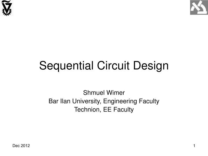 sequential circuit design n.